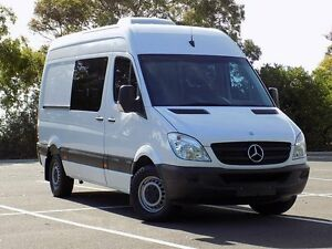 2011 Mercedes-Benz Sprinter NCV3 MY11 319CDI Low Roof MWB White 5 Speed Automatic Van Blair Athol Port Adelaide Area Preview