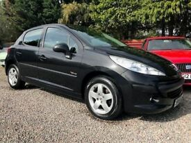 Peugeot 207 1.4 Verve, Black, Only 1 Previous Keeper, Low Cost Insurance with the 1.4 Engine