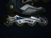 Roller Blades in-line skates in good condition. Size 40 - 41 UNISEX