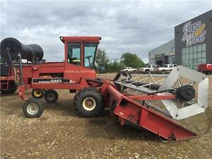 1987 Case IH 6000 SWATHER W/DRAPER **PRICE REDUCED**