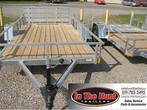 2017 6.5X12 Rance Rough Rider Landscape Trailer
