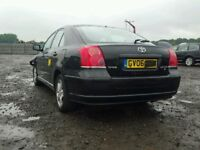 TOYOTA AVENSIS 2004-2008 BREAKING FOR SPARES DIESEL D4D TEL 07814971951 HAVE FEW IN STOCK