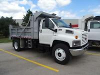 2007 GMC Topkick Single Axle Dump Truck