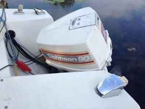 17' Doral with 90 hp 4V Johnson Kawartha Lakes Peterborough Area image 2