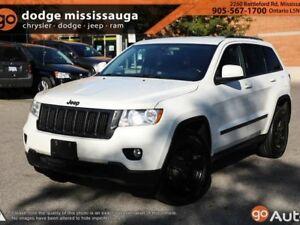 2012 Jeep Grand Cherokee Laredo+Leather+20 Black Wheels+Back up