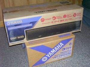 a -Yamaha Sound Projector and subwoofer, NEW-IN-BOX !