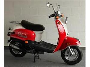 **SALE** Saga Retro - Gas Scooter 50cc 4 Stroke