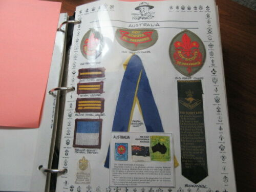Australia 20 Boy Scout Patches and Other Items    c27