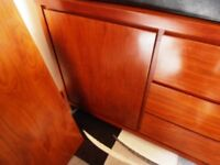 DRASTICALLY REDUCED ! - SOLID OAK SIDEBOARD !