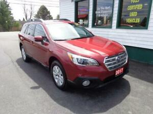 2017 Subaru Outback 2.5i Touring w/Tech Pk only $239 bi-weekly!