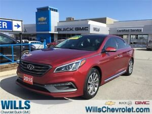 2015 Hyundai Sonata NAV | SUNROOF | HEATED SEATS | PUSH BUTTON S