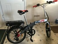 eLife Ebike Voyage 36V 6 Gear Folding Bike. Excellent Condition 18 months old. A Bargain - £275 ono