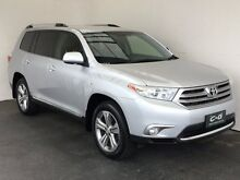 2012 Toyota Kluger GSU40R MY12 KX-S 2WD Silver 5 Speed Sports Automatic Wagon Mount Gambier Grant Area Preview