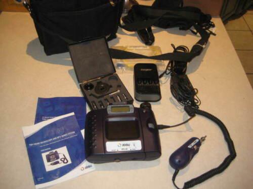 JDSU HP2-60-P2 Microscope with FBP Probe Fiber Inspection System w/ Case