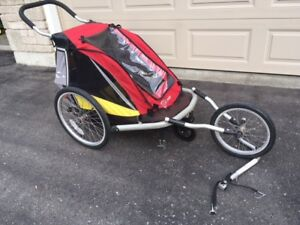 Croozer 3-in-1 Single Child Trailer, Jogger, Stroller