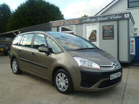 CITREON C4 PICASSO 1.6 HDI SX AUTOMATIC 7 SEATER! ALL CREDIT/DEBIT CARDS ACCEPTED