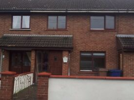 3 Bedroom house in Kilwilke Lurgan to rent immediately OFCH Double Glazed paved back yard