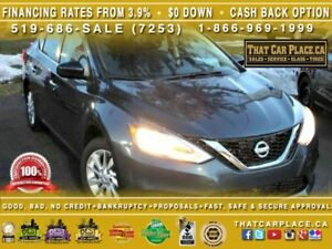 2017 Nissan Sentra S-ONLY 1566 KMS!!!! -LOW LOW KM-Like New-Blue