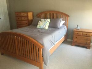 7 Piece Oak Bedroom Set