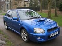 SUBARU IMPREZA 2.0 WRX AWD Turbo (blue) 2004