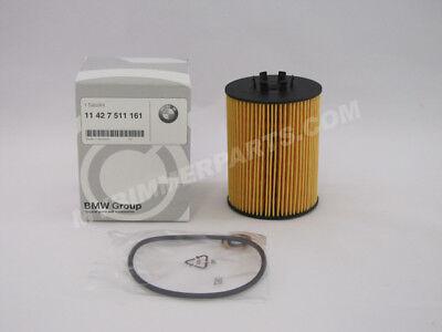 BMW OEM Genuine Oil Filters SET OF TWO 545i, 645Ci, 745i, 745Li, X5 11427511161