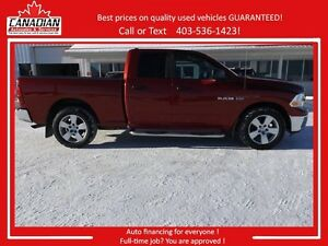2010 Dodge Ram Quad Cab 1500 SLT 4X4 REDUCED! STAMPEDE SALE!!