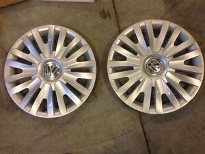 """15"""" VW wheel covers hubcaps OEM"""