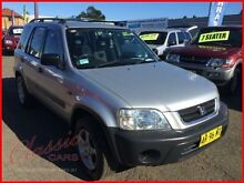 2000 Honda CR-V (4x4) Silver 5 Speed Manual 4x4 Wagon Lansvale Liverpool Area Preview