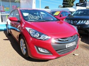 2014 Hyundai i30 GD3 Series II MY16 Active Red Sports Automatic Dual Clutch Hatchback Minchinbury Blacktown Area Preview