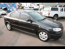 2001 Holden Astra TS CD Black 5 Speed Manual Hatchback West Footscray Maribyrnong Area Preview