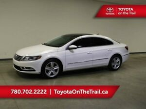 2013 Volkswagen CC SPORTLINE; LEATHER, GLASS ROOF, HEATED SEATS,