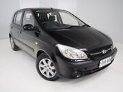 2009 Hyundai Getz TB MY09 S Black 5 Speed Manual Hatchback Mount Gambier Grant Area Preview