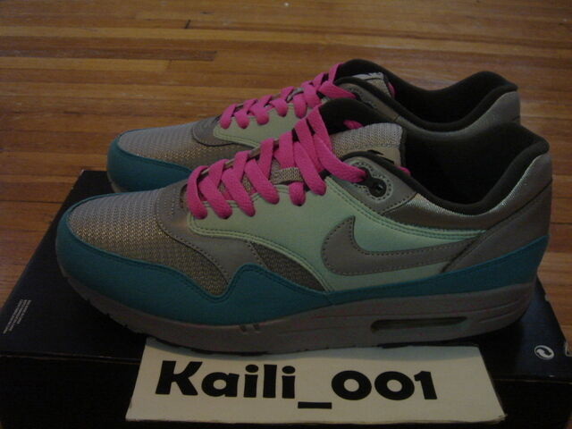 Nike Air Max 1 Id Size 11 5 Mc Fly Clot Mag Cement Powerwall Robot