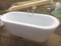 Bathstore Bath with Taps - Excellent Condition - Tenterden Kent TN30