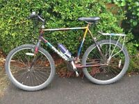 """Bicycle - all rounder for everyday use. 26"""" wheels. New tyres and inner tubes. Good condition."""