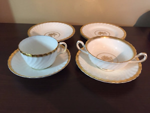 Minton Gold Rose China