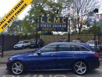 2014 64 MERCEDES-BENZ C CLASS 2.1 C220 BLUETEC AMG LINE PREMIUM 5D AUTO 170 BHP