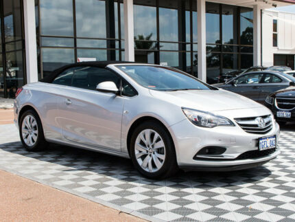 2015 Holden Cascada CJ MY15.5 Silver 6 Speed Sports Automatic Convertible