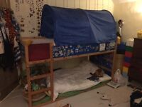 Ikea Children's bunk bed with two mattresses