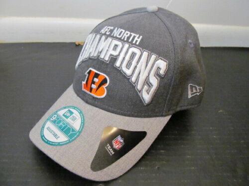 New Era 9Forty NFL Team Headwear Cincinnati Bengals AFC North Cap Hat, One Size