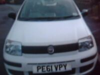 fiat panda active. sept 2011. white. 10 months M.O.T. millage 52.800. ABS. tax. central looking.