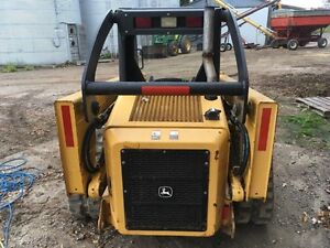 2006 JOHN DEERE CT 322 TRACK SKID STEER London Ontario image 4
