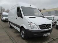Mercedes-Benz Sprinter 313 CDi MWB High Roof 3.5T Van DIESEL MANUAL WHITE (2013)