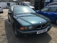 BMW 523i automatic, starts and drives very well, 1 years MOT (runs out May 2016), car located in Gra