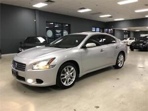2011 Nissan Maxima 3.5 SV*LEATHER*SUNROOF*NO ACCIDENTS*CERTIFIED