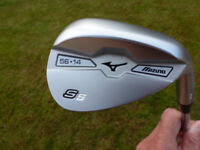 Mizuno S5 golf wedge 56 degrees Loft. Right Hand Steel