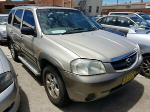 2001 Mazda Tribute Classic Beige 4 Speed Automatic 4x4 Wagon Georgetown Newcastle Area Preview