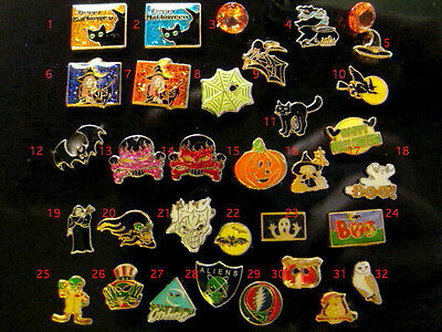 Choose four! Halloween Floating Living Locket Charms Skull Witch Bat Pumpkin Cat](Floating Witch)