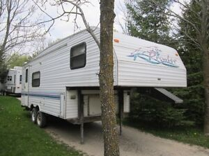 1997 Prowler 5th wheel 24ft