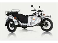 URAL GEAR UP URBAN CAMO CUSTOM SPECIAL-MOTEUR/TRANNY NOIR.